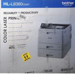 Business Color Laser Printer - Brother HL-L8360CDWT for Sale in Columbus, OH