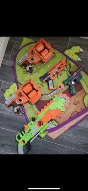 Zombie Nerf guns - they are special edition. for Sale in Las Vegas, NV