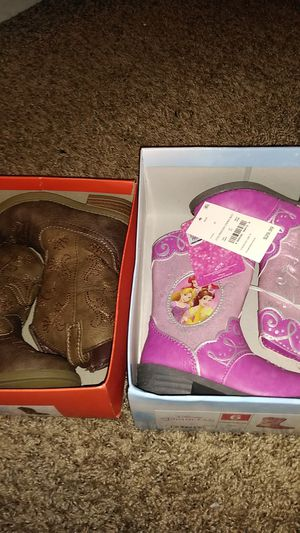 Target cow girl boots size 6 kids $50 firm for Sale in Hercules, CA