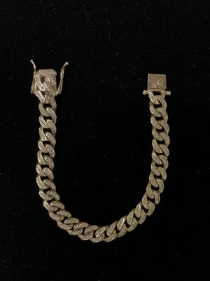 14k Diamond Gold Bracelet ICED OUT $4000 FIRM for Sale in Lynwood, CA