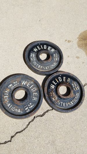 Weider International Olympic Weights for Sale in Longmont, CO