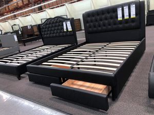 Bed frame with mattress for Sale in Perris, CA