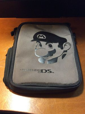 Super Mario Nintendo DS Travel Bag for Sale in Carmichaels, PA