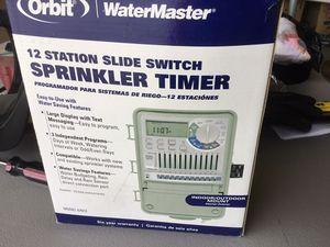 Orbit 12 station sprinkler timer for Sale in Escondido, CA