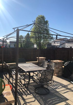 Patio furniture and canopy for sale for Sale in Reynoldsburg, OH