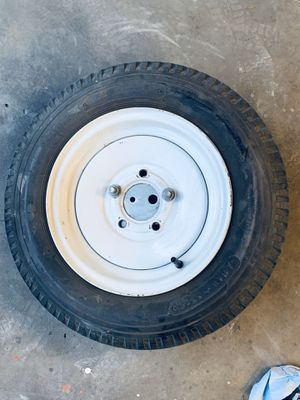 Spare Wheel with tire and mount for Jet Ski Trailer for Sale in Portland, OR