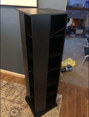 Rotating shelf, CD/DVD Holder for Sale in Milwaukie, OR