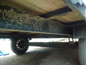 2016 Heavy Duty 14ft 5k trailer , Led Lights and Electric Brakes have a kit to convert to 10k for Sale in Littleton, CO