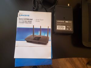 2 EA Linksys routers $100 for both for Sale in Chula Vista, CA