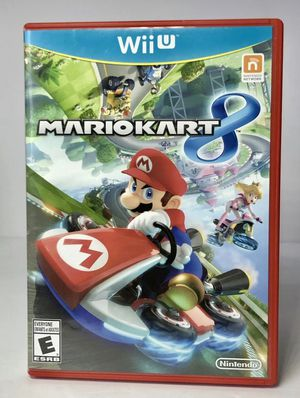 Mario Kart 8 (Nintendo Wii U, 2014) Complete with Manual EXCELLENT CONDITION for Sale in Alexandria, VA