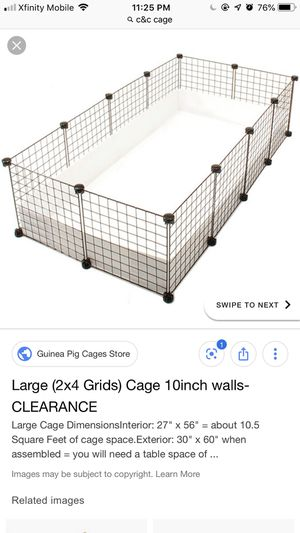 Guinea pig cage & Supplies for Sale in Rochester, MN