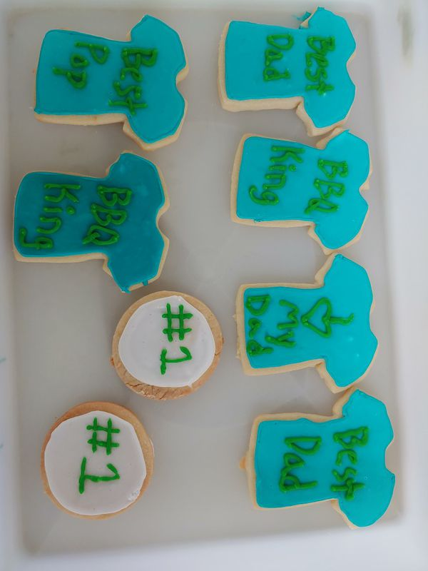 Sweet Batches Custom Design Shortbread Cookies! Made to order!