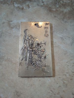 """Old Chinese Collectable, Miao Silver """" Children and Seniors"""" Hand Carved Zodiac Statue, Pendent. for Sale in Glendale, AZ"""
