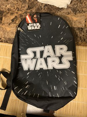 Star Wars backpack NEW W/TAGS for Sale in Dallas, TX