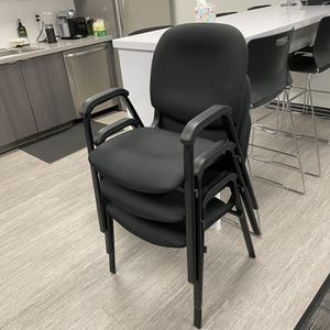 3 Stackable Office Chairs for Sale in San Diego, CA