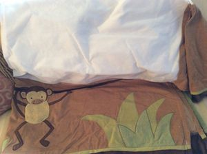Baby crib accessories/ bed Skirt/bumper for Sale in Vienna, VA