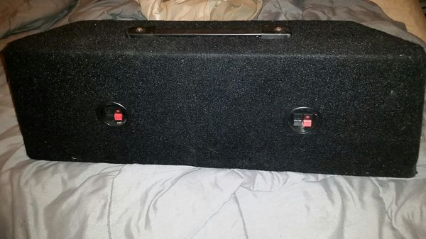 Speaker box with woofers and tweeters