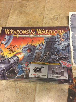 weapons and warriors old school for Sale in Marengo, OH
