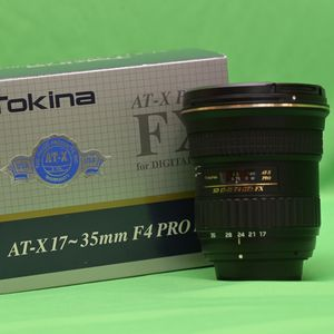 Tokina AT-X PRO 17-35mm f/4 SD FX Aspherical AF IF Lens For Nikon for Sale in Sammamish, WA