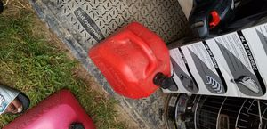 Kerosene heater and 5 gallon can, Toro lawn mower, and air compressor for Sale in Clinton, MD