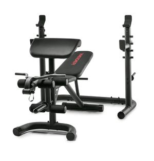 Brand New in box Weider XRS 20 Bench, Squat Rack, Preacher Curl for Sale in ROWLAND HGHTS, CA