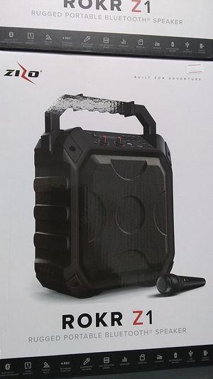 Zizo Z1 Bluetooth speaker for Sale in Durham, NC