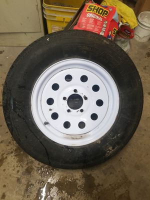 Trailer wheel and tire New !! for Sale in Plainfield, IL