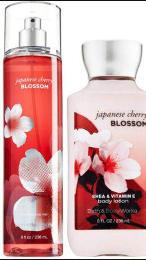 Japanese cherry blossom perfume &lotion set for Sale in Nashville, TN