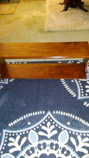 2 Brown Wooden Shelves for Sale in Gulfport, MS