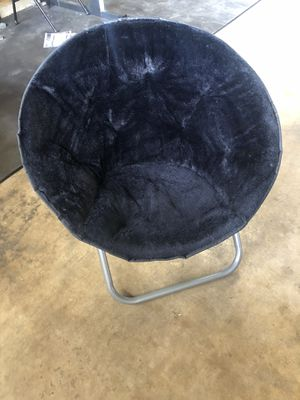 Black Saucer Chair for Sale in Fresno, CA