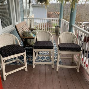 3 Bar Stool Chairs for Sale in McKeesport, PA