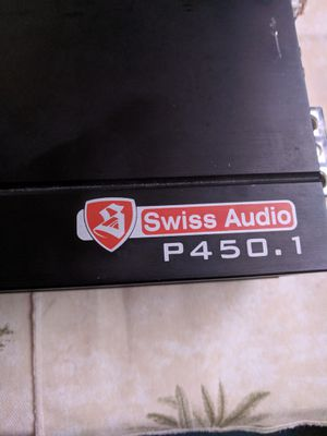 Swiss audio pro series amp for Sale in Riverside, CA