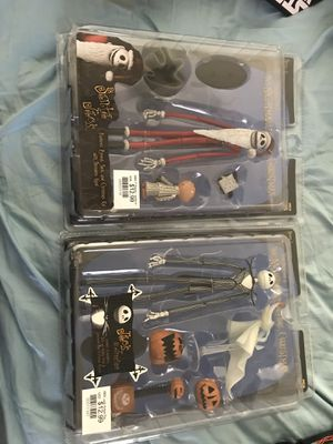 2 vintage Nightmare before Christmas Jack figures for Sale in Hampton, GA