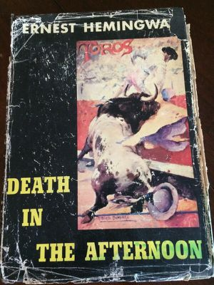 Death in the afternoon by Ernest Hemingway. First addition. With dust jacket. Copyright 1932. for Sale in Lake Park, FL