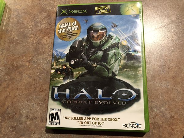 XBOX Combat Evolved Video Game
