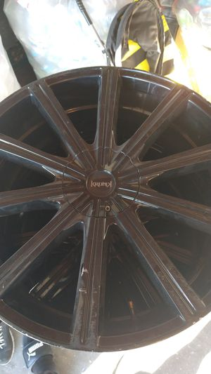Black 22-in rims for Sale in North Las Vegas, NV