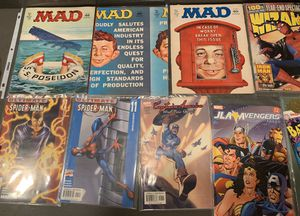 12 vintage various comics - 1972 & Up for Sale in West Hollywood, CA