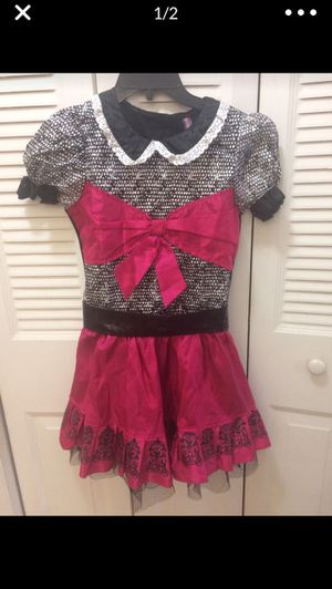 Monster High girls costume size L (12-14) for Sale in Hialeah, FL