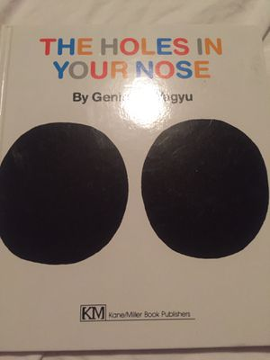 Holes in Your Nose book - like new for Sale in Tacoma, WA