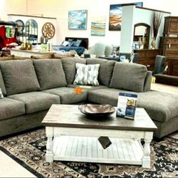 $39 down payment only / Dalhart Charcoal Sectional RAF LAF option for Sale in Arlington,  VA