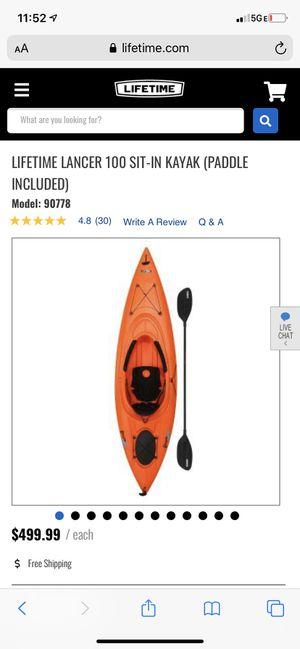 Kayak (orange) for Sale in Arvada, CO