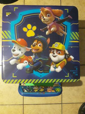Paw patrol kids table and (1) chair for Sale in Glendale, AZ