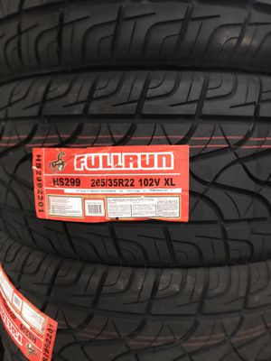 265-35-22 TYRES @wholesale prices—WE DELIVER ONLY for Sale in Anaheim, CA