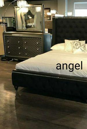 🧿BRAND NEW 🧿Giovani Dark Gray Panel Bedroom Set for Sale in Columbia, MD