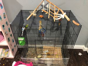 Full bird cage for Sale in Vancouver, WA