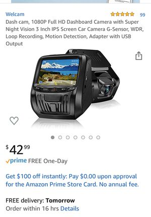 Dash cam for Sale in Fullerton, CA