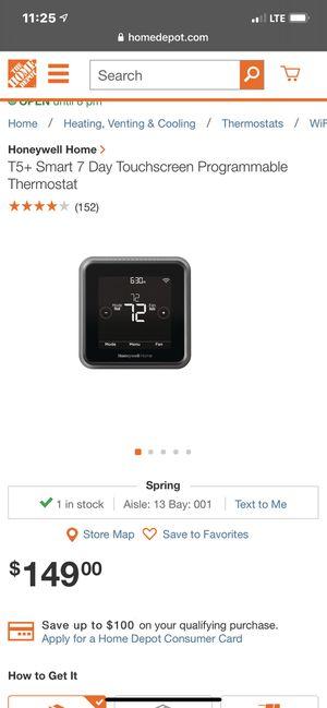 Bnib Honeywell thermostat for Sale in Spring, TX
