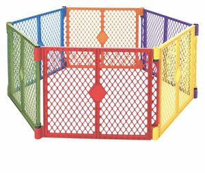 6 panels play yard with portable design for Sale in New Port Richey, FL