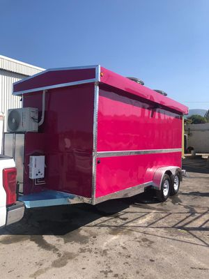 Food Trailer 7x16 pink available for Sale in Dallas, TX