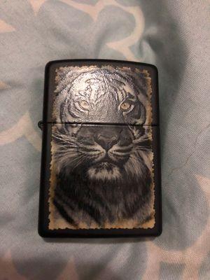 Black tiger zippo for Sale in Nashville, TN